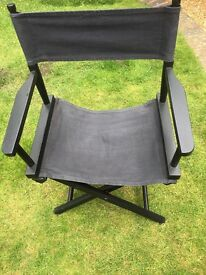 Director's chair in Black