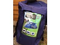 Halfords family tent pack, 3 sleeping bags missing