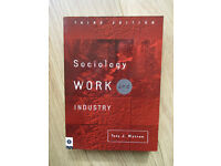 Sociology work and industry 3rd edition 2001 - paperback