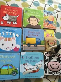 Bundle of lovely baby books