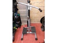 HEAVY DUTY STEPPER MACHINE WITH ARM WORKOUT ACTION - VARIABLE RESISTANCE ADJUSTMENT