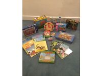 Various puzzles, game, books & toys for girls & boys aged 3 - 9 ( Julia Donaldson, elc, Usborne etc)