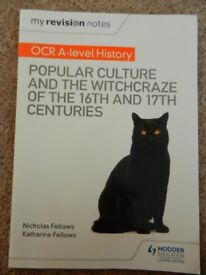 OCR A Level History Popular Culture and the Witchcraze Revision Guide