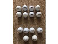 14 Bridgestone golf balls