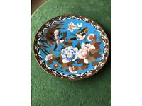 CHINESE CLOISONNE PLATE: Beautiful collectors item