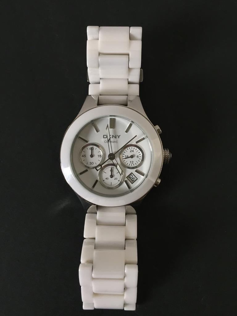 DKNY ceramic lady's watch