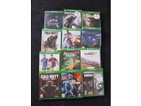 XBOX One 12 Games Bundle - Good Condition