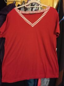 Women's Red Top