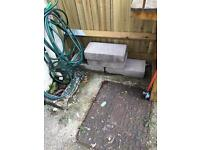 Free! Concrete/breeze blocks -SOLD SUBJECT TO COLLECTION