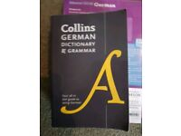 Collins German Dictionary and Grammar. Useful for National 5 or Higher