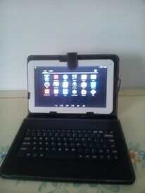 Fully Loaded Kodi MaPan F10B 10'' 1.4GHZ 40GB Quadcore Smart Tablet With Case Keyboard & Accessories
