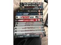 WWE/WWF Wrestling DVDs