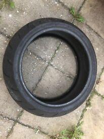 Bridgestone Battlax BT015 R 190/50 ZR17 Rear wheel, M/C Tyre Light Use