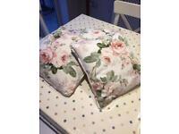 3 shabby chic cushions