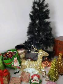 Large selection of Christmas decorations
