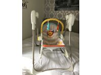 Fisher price 3 in 1 swing/chair/rocker