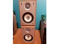 2 Eltax HiFi Speakers 130 Watts Each