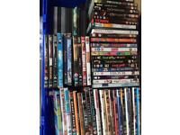 Joblot of 100 dvds