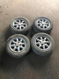 Mini Cooper alloy wheels 12 inch