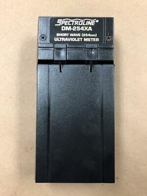 Spectroline Dm-254xa Short Wave 254nm Uv Meter Works Well