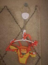 Baby door bouncer (never used)