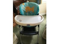 Chicco Poly Highchair (foldable)