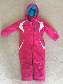 Girls ski suit - age 4-5