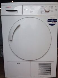 Bosch WTE84105 7kg White Sensor Drying Condenser Tumble Dryer 1 YEAR GUARANTEE