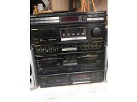 Pioneer old stereo and speakers