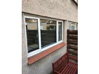 2360x1180 Upvc double glazed window
