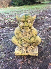 Stone Gargoyle Garden Ornament