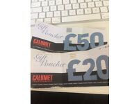 Calumet - Photography Equipment - Vouchers £70 - Nikon, Cannon, Studio Lighting