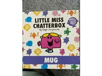 Little Miss Chatterbox Mug in Box Brand New