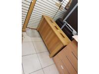 Solid oak wood sideboard £69
