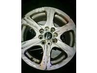 4 Alloy wheel with tyres
