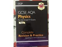 GCSE AQA CGP Physics Revision Guide & Workbook