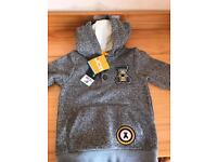 2-3 yr old hoodie with digger design