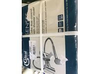 Brand new ideal standard senses cube dual control bath and shower mixer