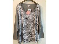 Plus size 32 camouflage top