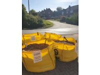 Free Gravel - 4 tonnes in bulk bags ready for collection
