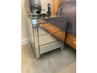 Bedside Tables x2 3 Drawers Cabinets Night Stands Bed Cost £600 50% OFF!