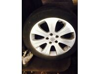 Vauxhall alloy wheels 17 inch