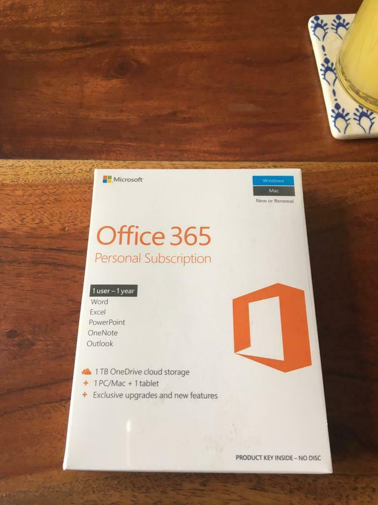 Microsoft Office 365 and Mcafee security unopened 1 year subscriptions | in  Ruddington, Nottinghamshire | Gumtree