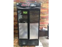 Larder very large commercial drink fridge