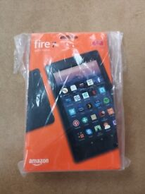 AMAZON FIRE 7 TABLET WITH ALEXA 8GB BRAND NEW SEALED WITH WARRANTY AND RECEIPT