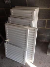 3 x Double convector radiators 41 x 21 inches, £40 each or £90 for all 3.