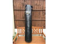Everlast 5ft Punchbag As New condition