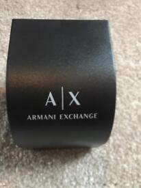 A X Armani watch (£90)