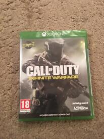 Brand New call of duty Infinite warfare xbox one new
