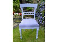 Vintage wooden bedroom / dining chair